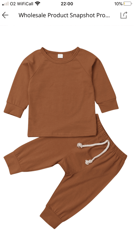 Personalised lightweight tracksuit/ loungewear