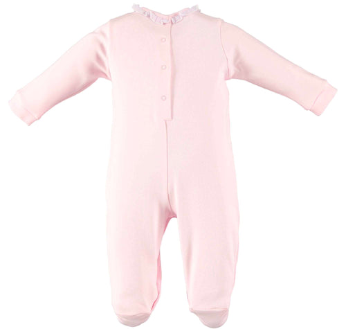 Pink Romper With Feet by IDO
