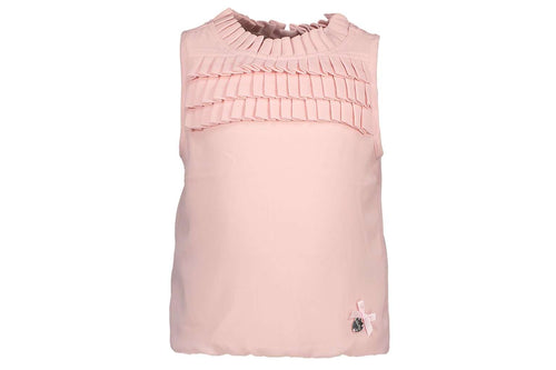 Plissee Chest Top by Le Chic (Blush Pink)
