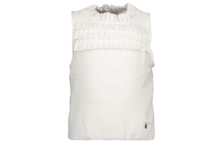 Plissee Chest Top by Le Chic (Off White)