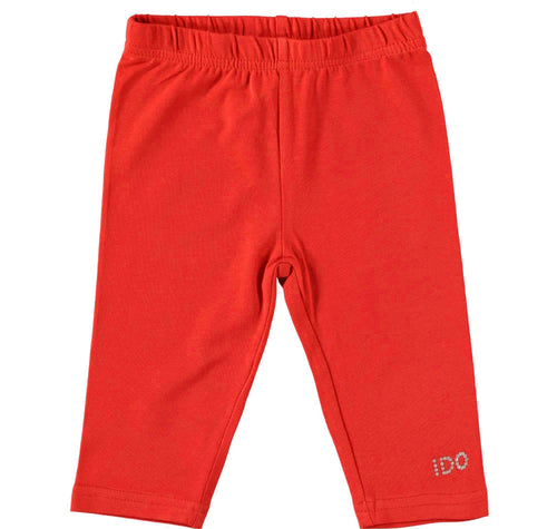 Red Short Leggings by IDO