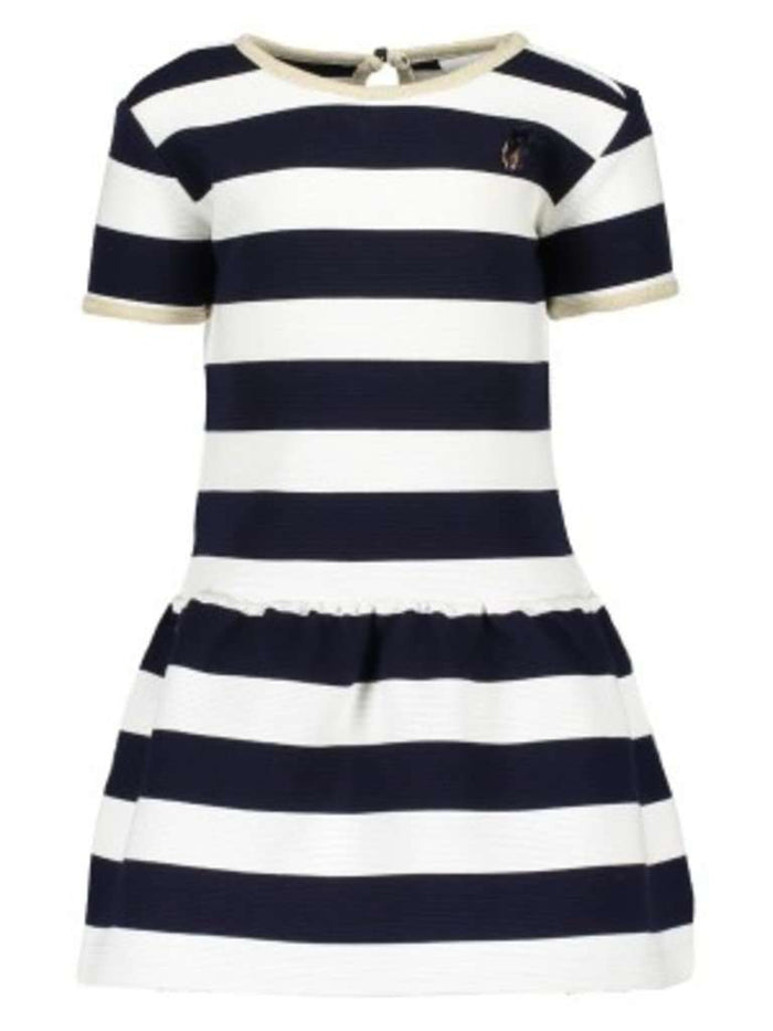 Relief Stripe Dress by Le Chic (Babies)