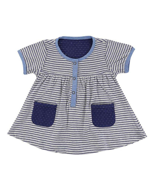 Reversible Striped Dress by Lilly & Sid