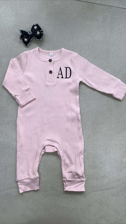 Ribbed Playtime Romper