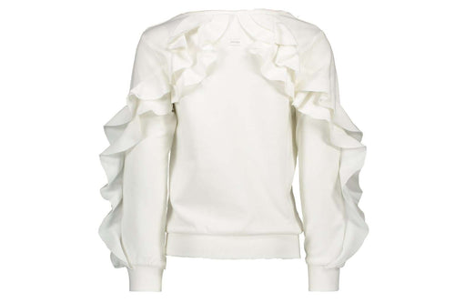 Ruffle Sweater Le Chic Royale (Off White)