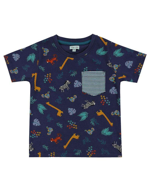 Safari AOP T-Shirt by Lilly & Sid
