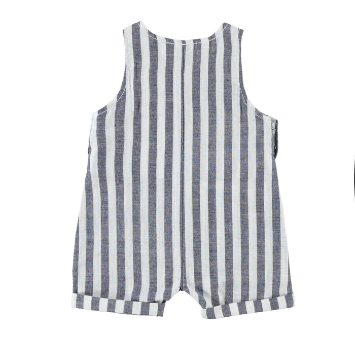 Striped Short Dungarees by IDO