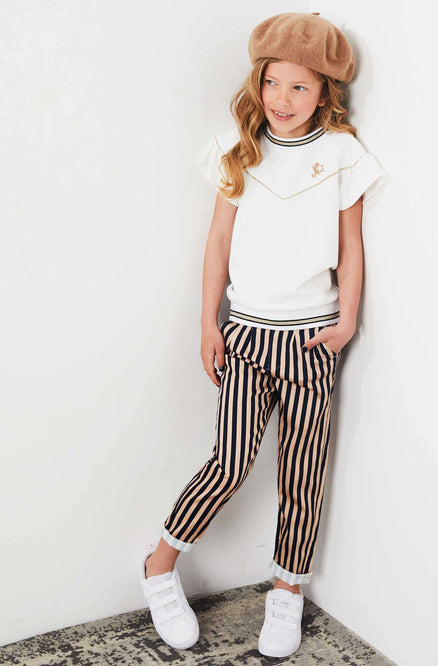 Striped Trousers by Nono