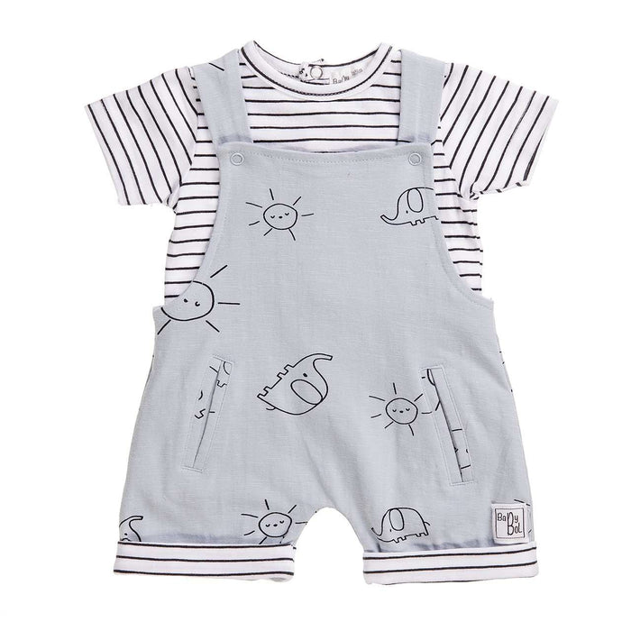 Sunshine & Stripes Two Piece outfit by Babybol