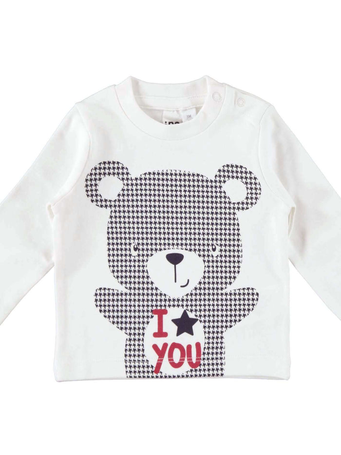 The Teddy Bear Long Sleeve T-Shirt By IDO