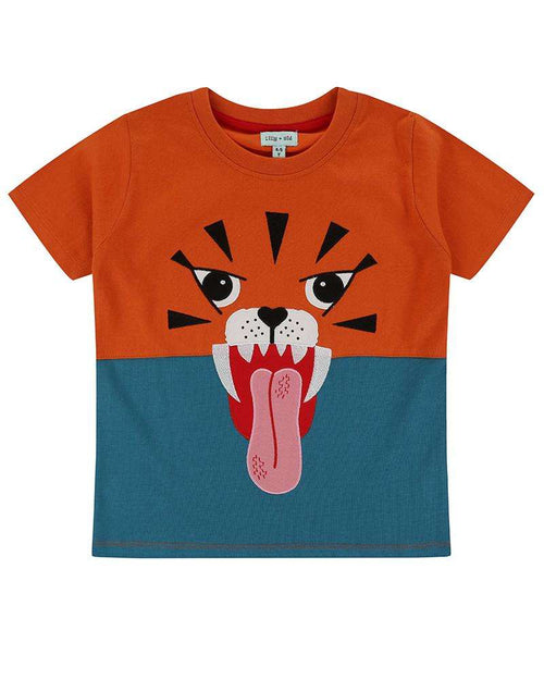 Tiger Character T-Shirt by Lilly & Sid