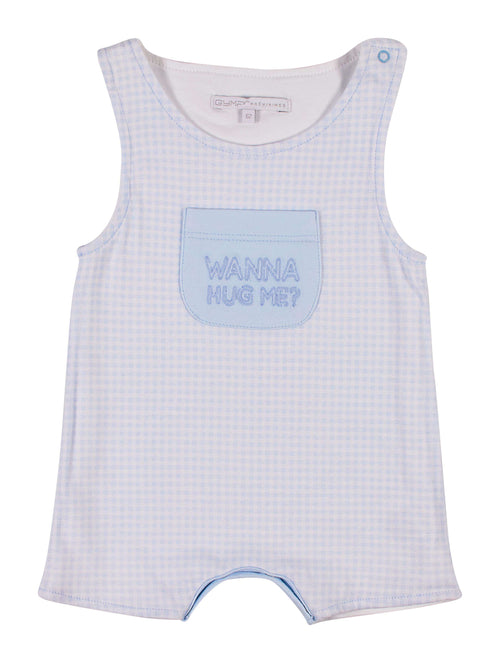 Wanna Hug Me Romper by GYMP