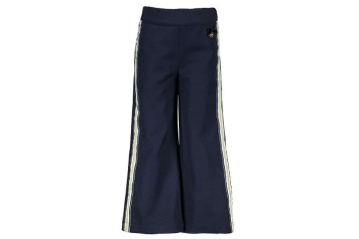 Wide Leg Trousers by Le Chic (Navy)
