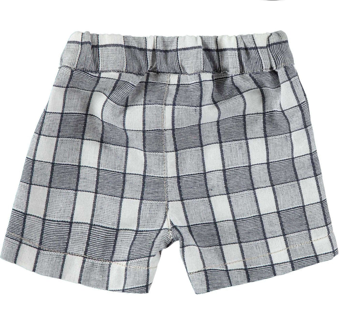 Woven Check Shorts by IDO