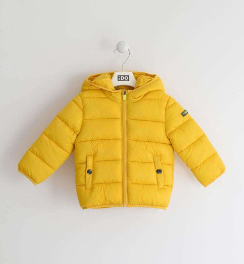 Yellow Padded Thermal Coat by IDO
