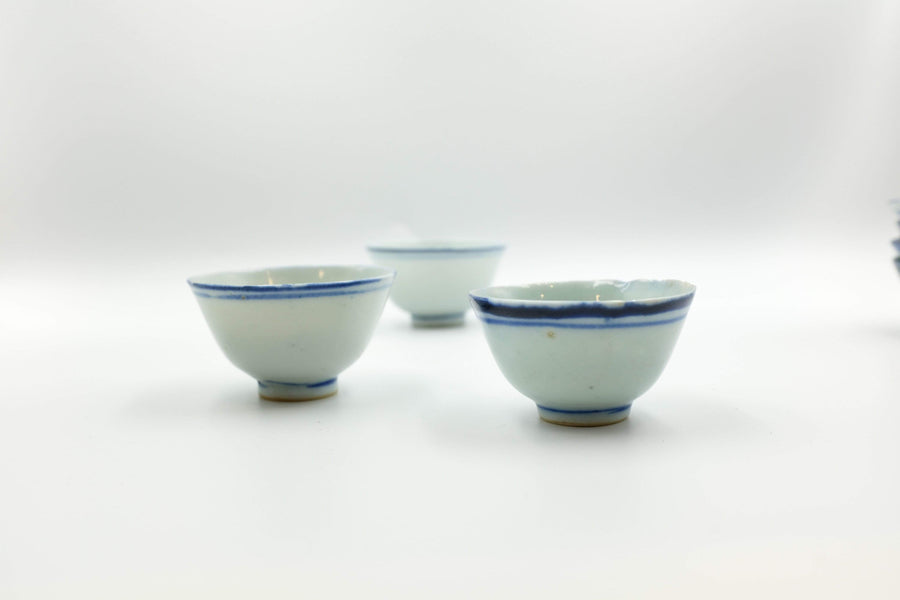 Blue Line Cup (Late Qing Dynasty) - 1st Grade | Chanting Pines | Simply the finest Chinese Tea & Teaware