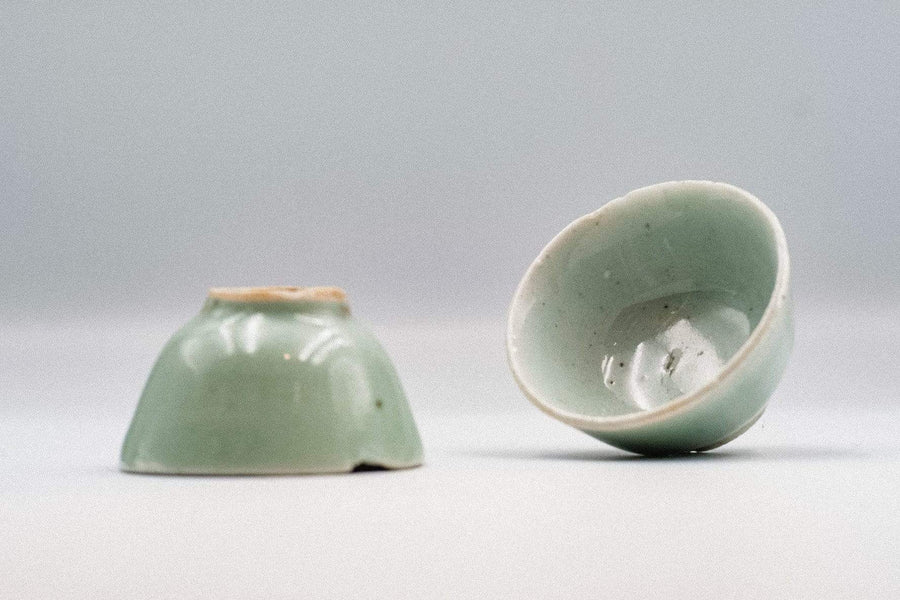 Celadon Cup (Mid-Qing Dynasty) - 2nd Grade | Chanting Pines | Simply the finest Chinese Tea & Teaware