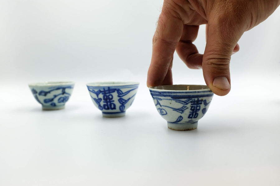 Double Happiness Cup (Mid-Qing Dynasty) - 1st Grade | Chanting Pines | Simply the finest Chinese Tea & Teaware
