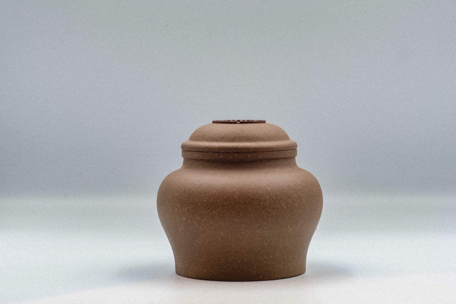 Yixing Jar with design | Chanting Pines | Simply the finest Chinese Tea & Teaware