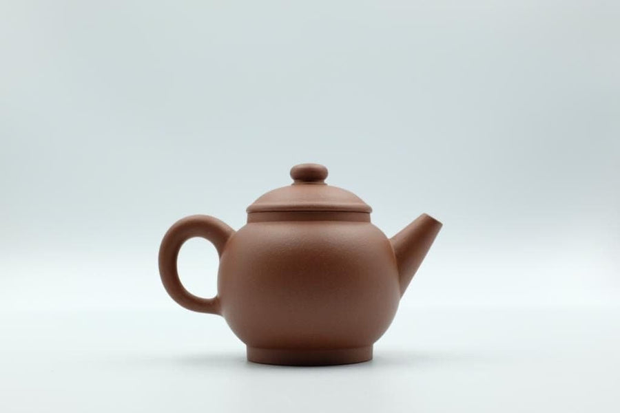 Ju Lun Zhu Pot - 120ml - Zhao Zhuang Hong Ni | Chanting Pines | Simply the finest Chinese Tea & Teaware