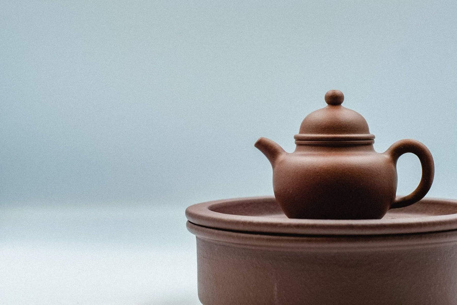 Yixing Boat and Strainer | Chanting Pines | Simply the finest Chinese Tea & Teaware