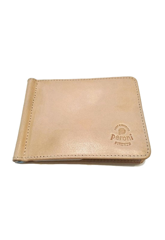 PERONI Wallet with Moneyclip 1436 - Natural