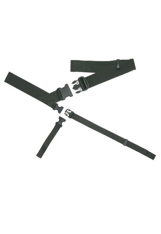 BAGJACK 3 Point Strap system Polypropylene - Black