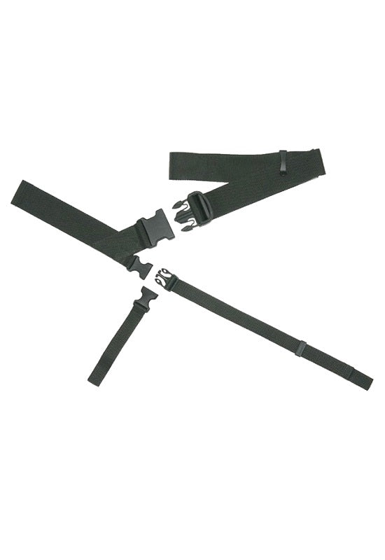 BAGJACK 3 Point strap system Polyamid - Black