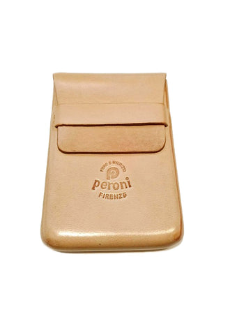 PERONI Card Case 966 - Natural