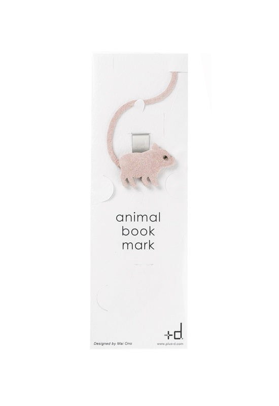 H CONCEPT Animal Bookmark - Pig