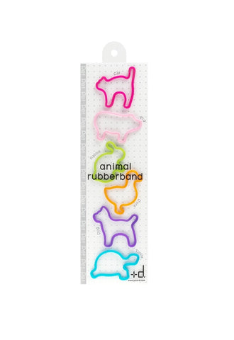 H CONCEPT Animal Rubberband - Pet 6pcs