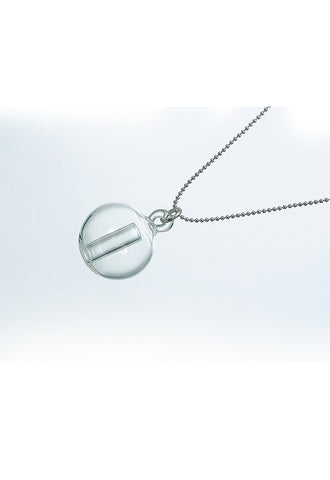 HARIO Aroma Glass Necklace - Sphere (Pomme) AP-1PM
