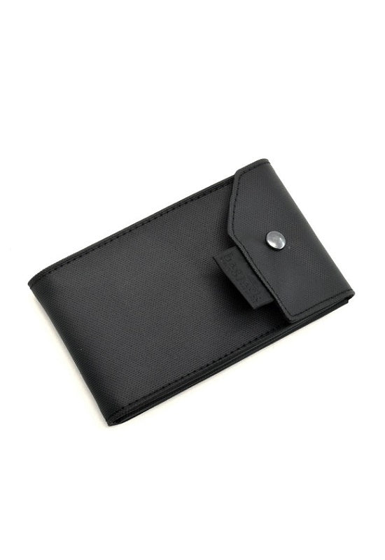 BAGJACK Card Carrier Vegan Leather - Black #04721