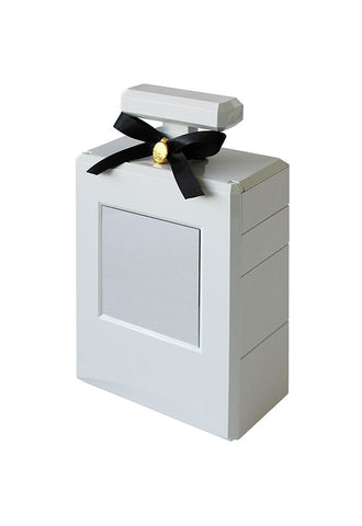 HACHIMAN KASEI Coffret Jewelry Box - White
