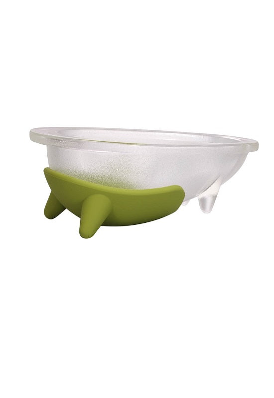 HARIO Dog Plate Pistachio Green (Glass Type) 750ml PTS-L GP