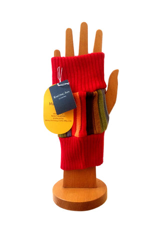 MATSUI KNITTING CRAFT Gloves 4 Red/Rojo
