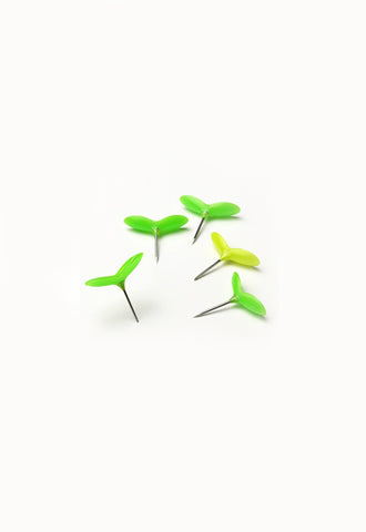 H CONCEPT Green Pin - Pack of 5
