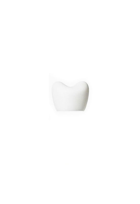 H CONCEPT Heart Bottle Cap - Solid White
