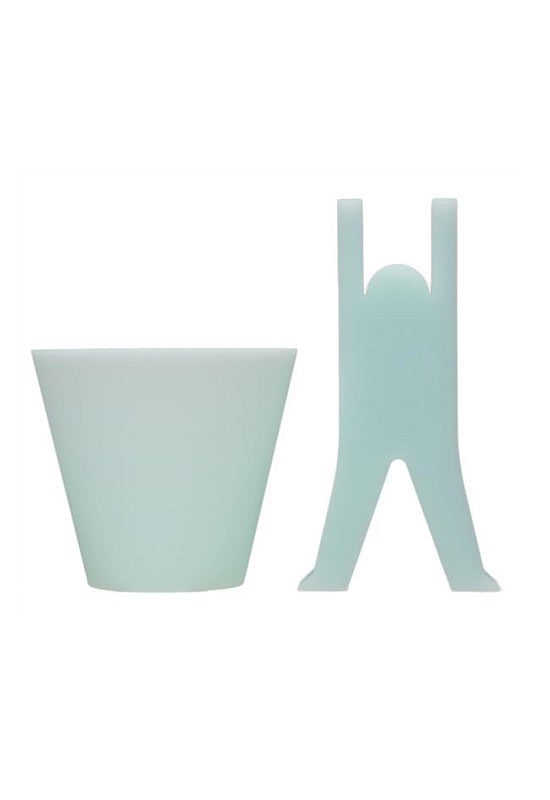 H CONCEPT Kobito Cup and Stand - Blue