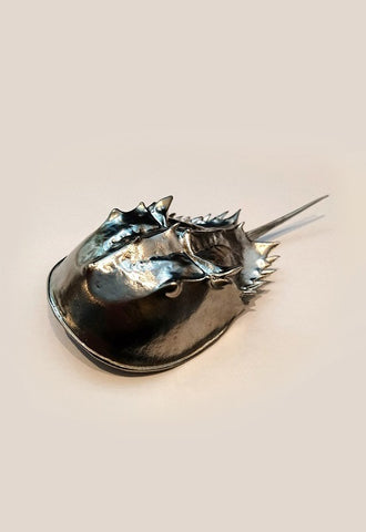 IWASHI KINZOKUKA Metal Figure - Japanese Horseshoe Crab (Large)