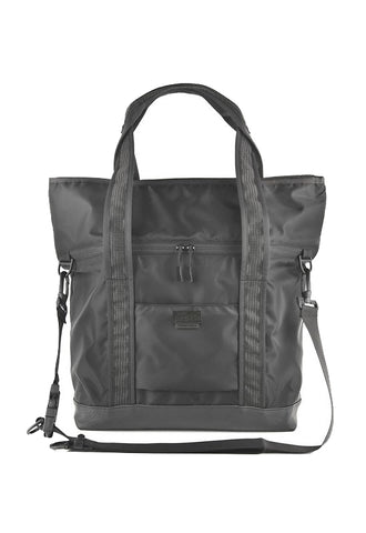 BAGJACK NXL Two Face Tote Bag - Black/Leather