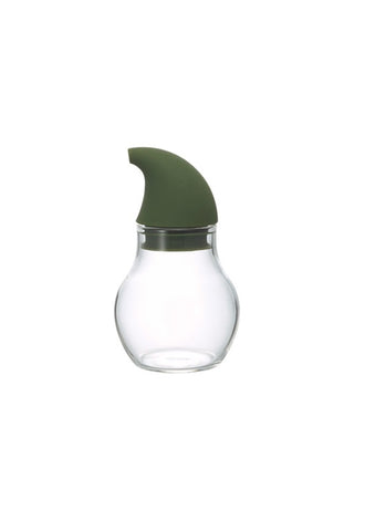 HARIO Nuba Seasoning Bottle Drop 120ml Olive Green NCD-120-OG