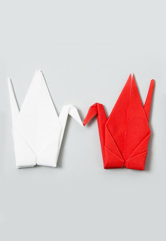 100 PERCENT Peti Peto - Tsuru (Red/White Pair)