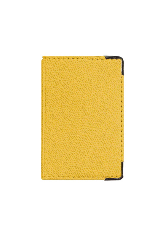 QUO VADIS Pocket Card Holder - Yellow