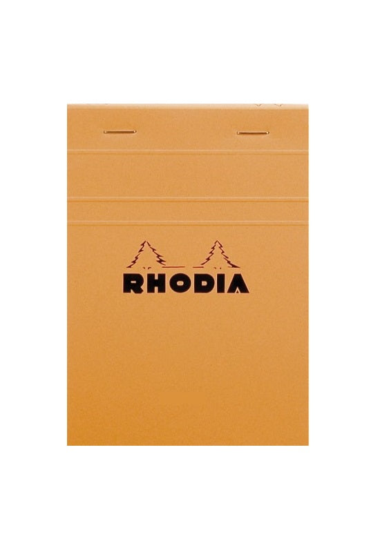 RHODIA Bloc N13 10.5x14.8cm Grid Orange #13200C