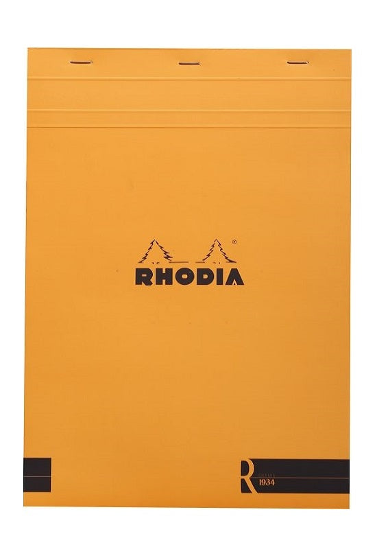 RHODIA Bloc R Pad N18 Lined Orange #182011C