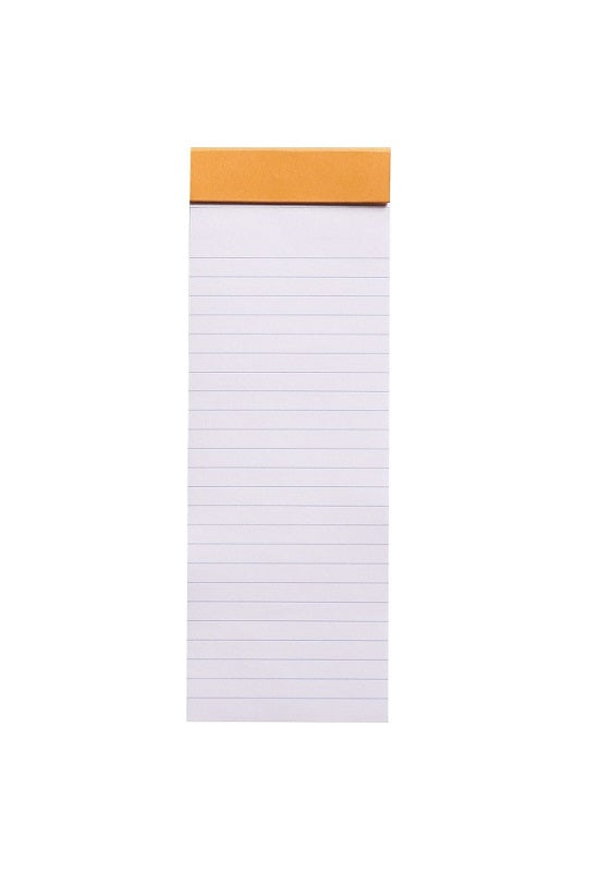 RHODIA Bloc N8 7.4x21cm Lined Orange #8600C