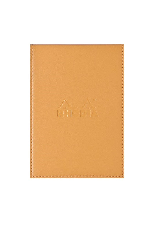 RHODIA ePure Notepad Cover N12 Orange Lined #218128C