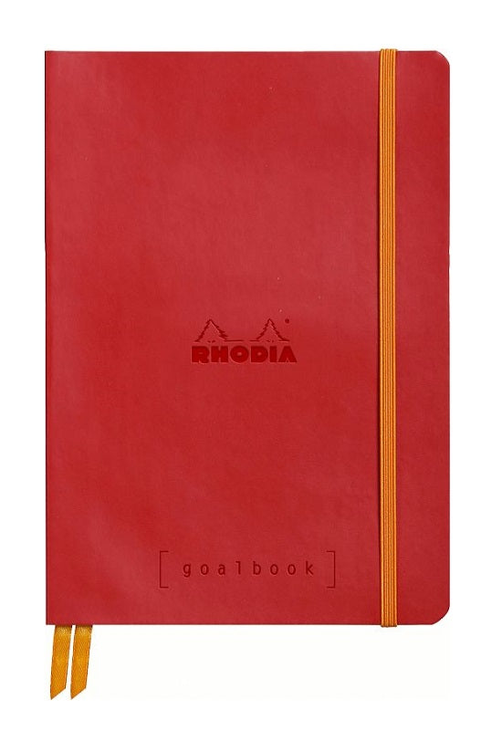 RHODIA Rhodiarama Goalbook A5 Dot Grid Poppy #117753C