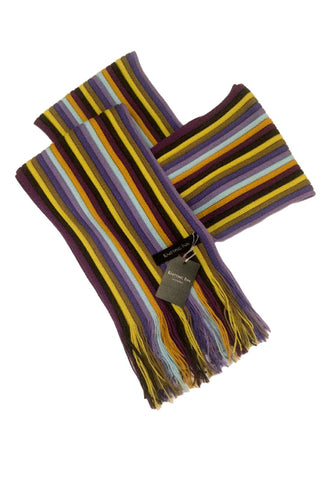 MATSUI KNITTING CRAFT Scarf 3 Purple